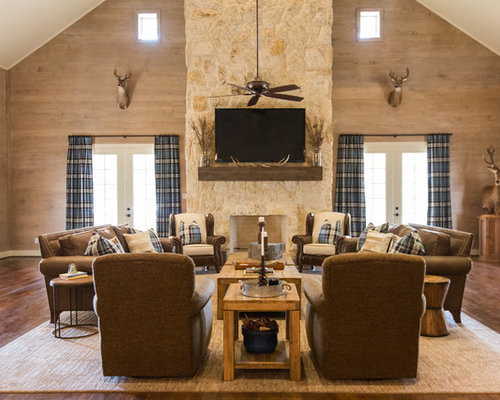 Rustic Living Room Furniture rustic living room ideas & design photos | houzz