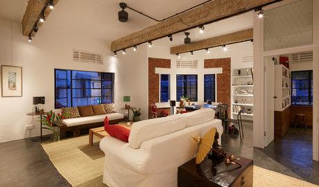 歴史ある集合住宅のスタイリッシュなリノベーション