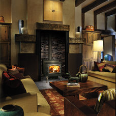 Contemporary Fireplaces by Black Swan Hearth & Home