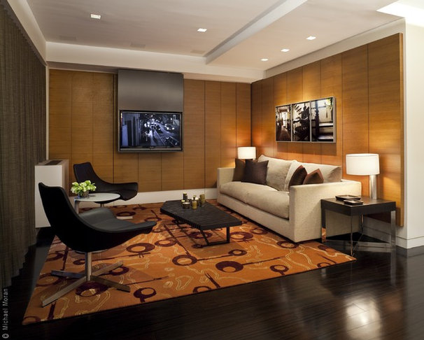 Modern Living Room by Ian Engberg