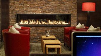 6' Custom Gas Fireplace