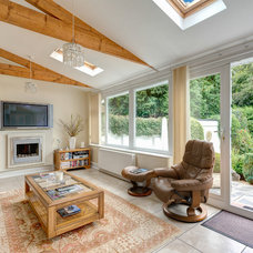 Traditional Family Room by Colin Cadle Photography