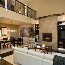 Contemporary Living Room by Barbera Homes