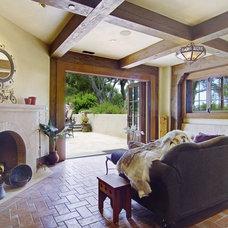 Mediterranean Living Room by Malibu Ceramic Works