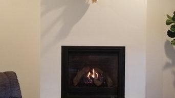 6000CLX Single Sided Gas Fireplace