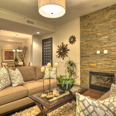 Contemporary Living Room by Aha Development Group, Inc.