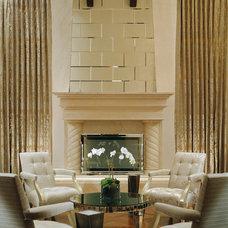 Modern Living Room by Jamie Herzlinger