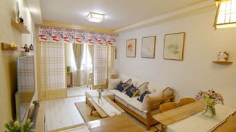 67 sqm two bedroom apartment with Japanese style