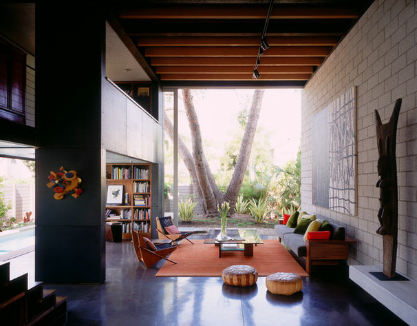 Living Room by Ehrlich Architects