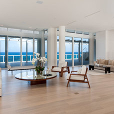 Contemporary Living Room by Alonso & Associates, Inc.