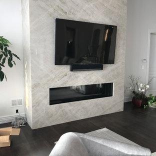 "72"" Linear Gas Fireplace"