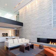 Contemporary Living Room by TURETT COLLABORATIVE ARCHITECTS