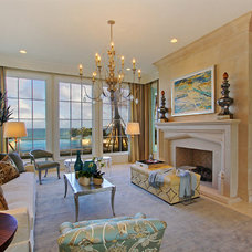 Mediterranean Living Room by Claremont Companies