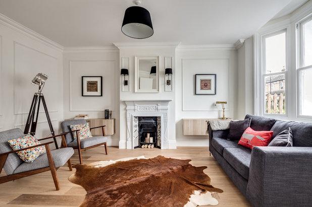 Scandinavian Living Room by JLB Property Developments