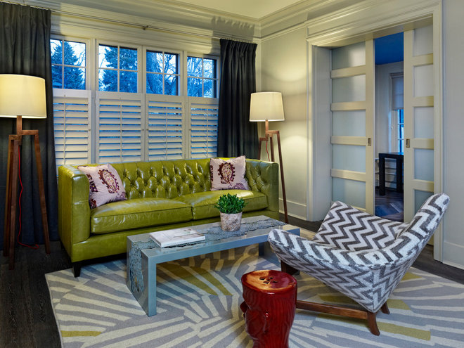 Contemporary Living Room by GRUBER HOME REMODELING
