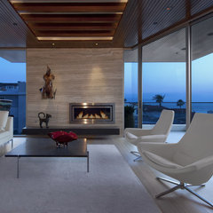 modern living room by Michael Lee Architects