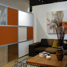 Contemporary Living Room by LOFTwall Divider Solutions