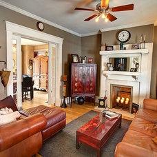 Eclectic Living Room by Regina Acosta Tobin