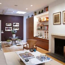 Contemporary Living Room by Peter Pawlak Design Studio