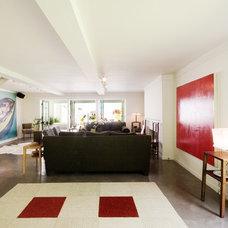 Contemporary Living Room by emily jagoda