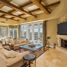 Mediterranean Living Room by The Matheson Team RE/MAX Fine Properties