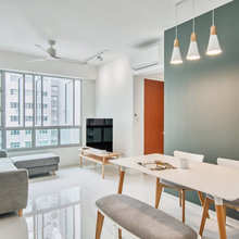 Houzz Tour: Neutral Hues and Scandi Style Rule This 3-Room Flat