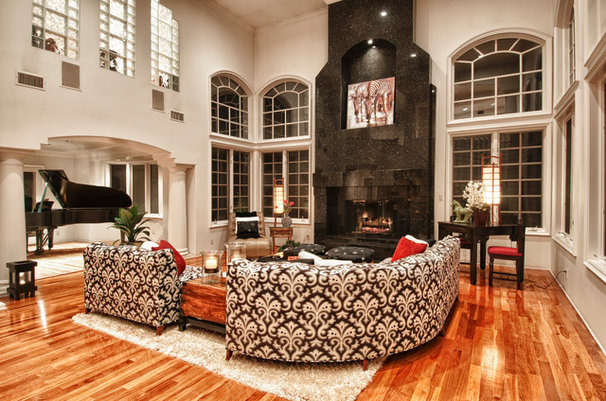 Mediterranean Living Room by The Boutique Real Estate Group