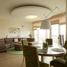 Contemporary Living Room by Dalius & Greta Design