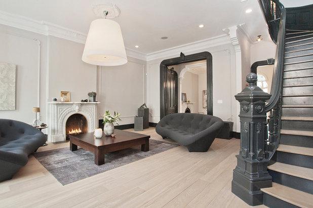 Scandinavian Living Room by Jensen C. Vasil  Architect PC