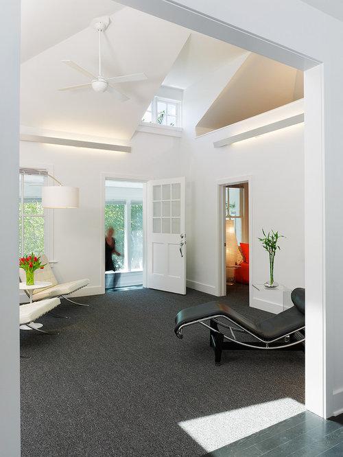dark carpet living room