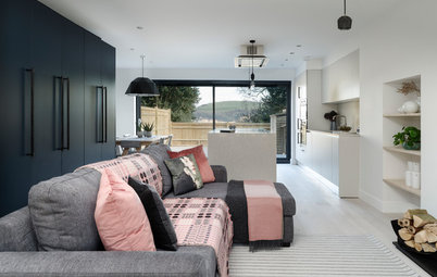 Houzz Tour: 1980s Home Updated for a Family's Modern Lifestyle