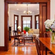 Traditional Living Room by John Altobello Architecture