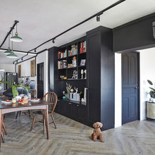 Houzz Tour: 4-Room Flat Renovated with a Stylish, Musical Twist