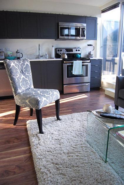 Contemporary Living Room by Megan Buchanan