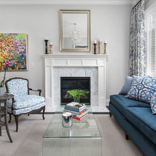 25 Best Small Living Room with a Standard Fireplace Ideas, Designs ...