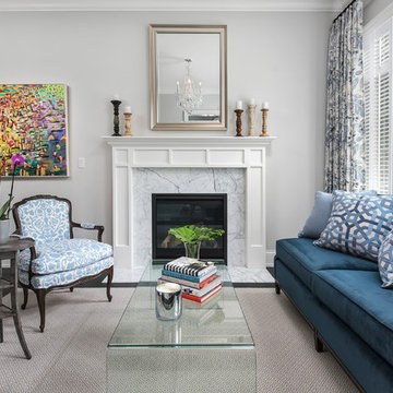 A Blue Lakeview Home