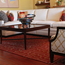 Traditional Living Room by Traci Connell Interiors