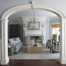 traditional living room by Cindy Rinfret