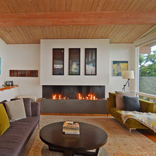 Midcentury Living Room by Dennis Paige Real Estate