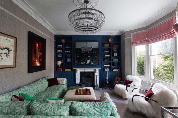 Modern Living Room by Claudia Dorsch Interior Design Ltd
