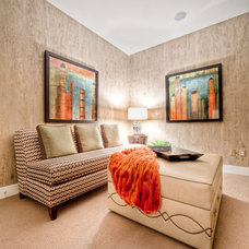 Contemporary Living Room by Kayla McClure, D3 Interiors