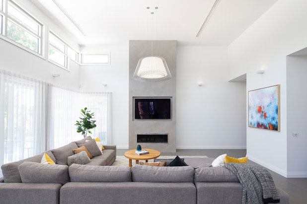 Contemporary Living Room by The Dept of Design