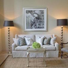 Traditional Living Room by Bates Design Associates, LLC