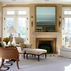 contemporary living room by Sroka Design, Inc.