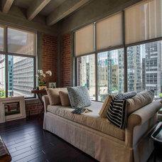 Contemporary Living Room by CM Designs