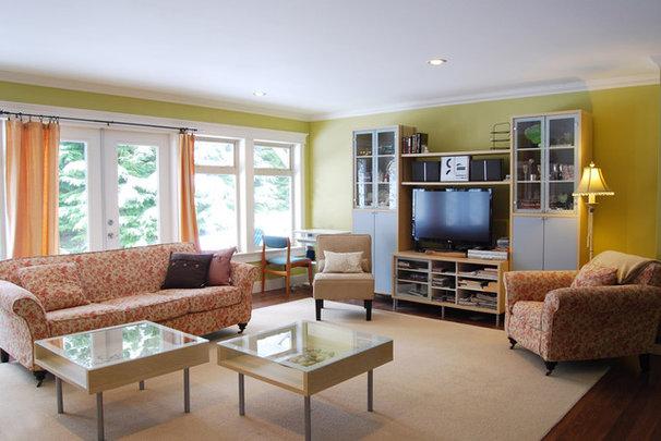Farmhouse Living Room by Megan Buchanan