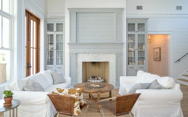 Landhausstil Wohnzimmer: Wohnzimmer komplett neu gestalten ideen ...