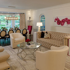 Eclectic Living Room by House of L Interior Design