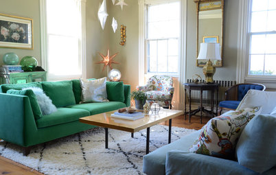 My Houzz: Color and DIY Creativity in a Connecticut Family  Home