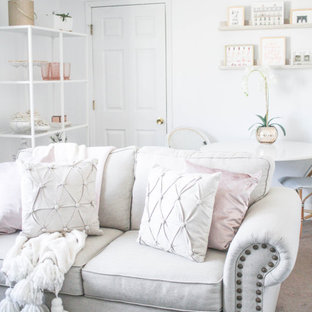 A Glam Living and Bedroom